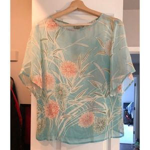 NWT Tommy Bahama silk top